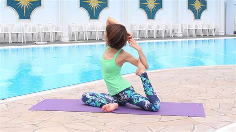 Poolside Yoga Session   Activities Japan at Hotel New
