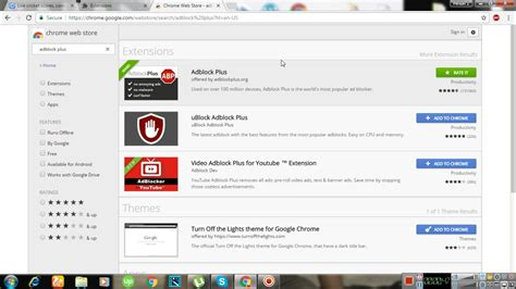 How To Disable Adblock On Update Google Chrome Browser