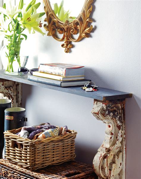 How to make a vintage console table