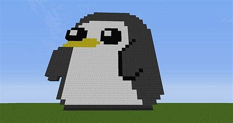 Gunter from Adventure Time Minecraft Project