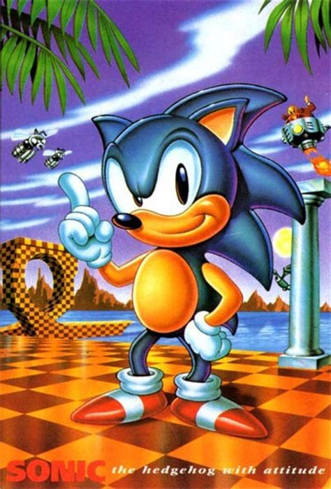 Official Art – Sonic The Hedgehog | Last Minute Continue