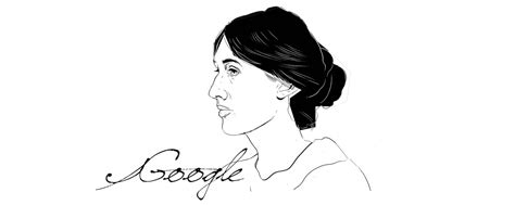 Virginia Woolf Google doodle honors iconic author of