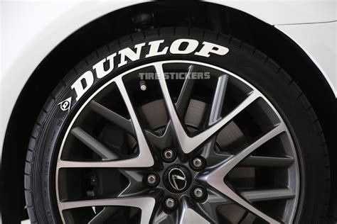 dunlop-white-lettering   TIRE STICKERS