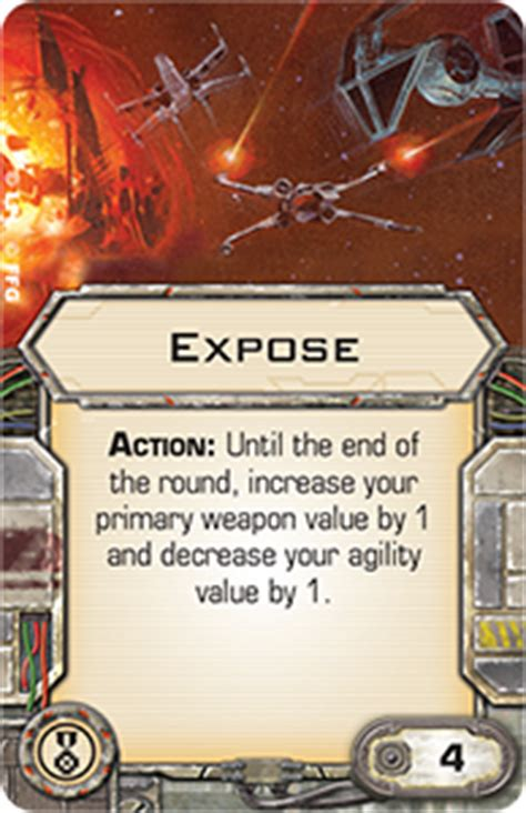 Expose | X-Wing Miniatures Wiki | FANDOM powered by Wikia