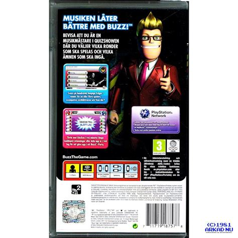 BUZZ THE ULTIMATE MUSIC QUIZ PSP - Have you played a
