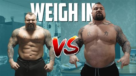 Eddie Hall Sheds 20 Pounds In 17 Days For Fat Loss
