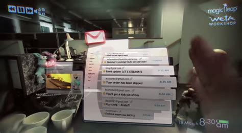 Magic Leap augmented reality demo gives glimpse of Google