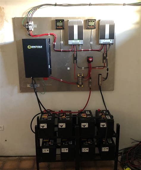 My Spartan Power SP-IC3324 Inverter Charger Setup in
