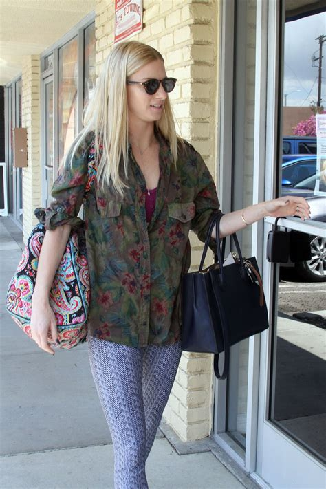 HEATHER MORRIS Arrives at Dancing with the Stars Rehearsal