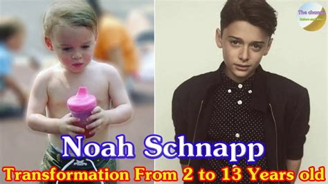 Noah Schnapp transformation from 2 to 13 years old - YouTube