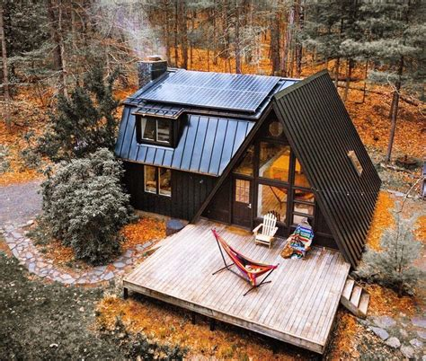 You can Rent This A-Frame Cabin in Catskills for $240 per