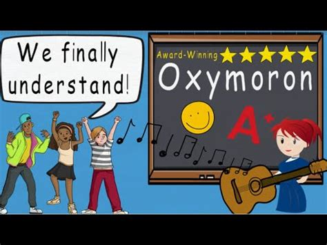 Oxymoron Song by Melissa - YouTube