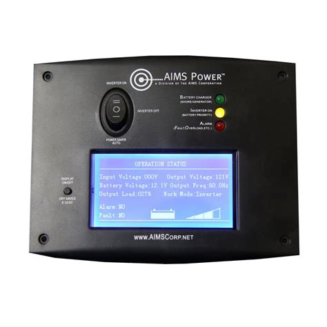Aims PICOGLF Remote Switch with LCD for AIMS Inverter Chargers