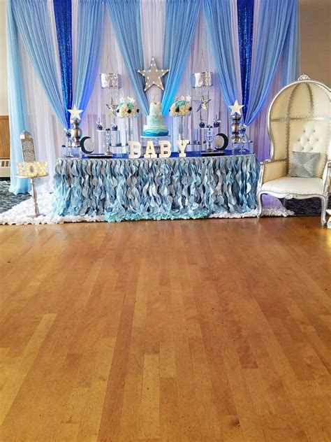 Starry Night Baby Shower - Baby Shower Ideas - Themes - Games
