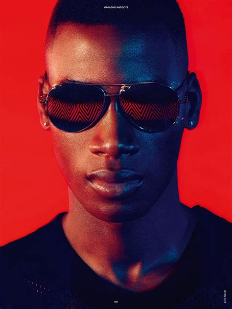 David Agbodji for Antidote Magazine by Miguel Reveriego