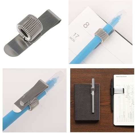 NEW MUJI stainless pen holder ( single x 1 ) made in japan