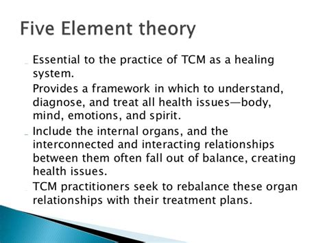 Fundamental concepts of traditional medicine of china